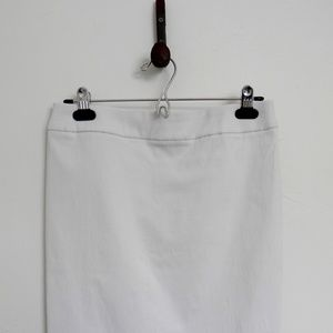Cleo White Stretchy Pencil Skirt Women's XS